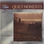 Various-60s & 70s Quiet Moments UK 2-LP vinyl set
