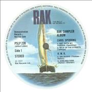 Click here for more info about 'Various-60s & 70s - RAK Album Sampler'