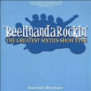 Click here for more info about 'Various-60s & 70s - ReelinandaRockin' - The Greatest Sixties Show Ever + Ticket Stub'