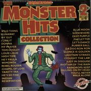 Various-60s & 70s The Monster Hits Collection UK 2-LP vinyl set