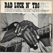 Click here for more info about 'Various-Blues & Gospel - Bad Luck N' Trouble - Library Stickered'