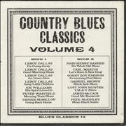 Click here for more info about 'Various-Blues & Gospel - Country Blues Classics Volume 4'