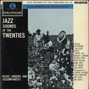 Click here for more info about 'Various-Blues & Gospel - Jazz Sounds Of The Twenties (Vol. 4): Blues Singers And Accompanists'