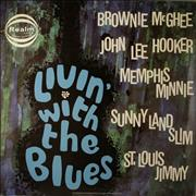 Click here for more info about 'Various-Blues & Gospel - Livin' With The Blues'