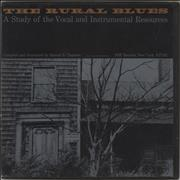 Click here for more info about 'Various-Blues & Gospel - The Rural Blues: A Study Of The Vocal And Instrumental Resources'