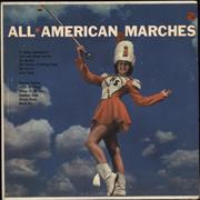 Various-Brass Bands All American Marches USA vinyl LP