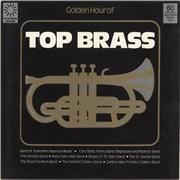 Various-Brass Bands Golden Hour Of Top Brass UK vinyl LP