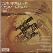 Various-Brass Bands The World Of Brass Bands Vol. 2 UK vinyl LP