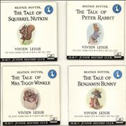 Click here for more info about 'Various-Childrens - Beatrix Potter - The Tales Of Squirrel Nutkin/ Mrs. Tiggy-Winkle/ Peter Rabbit/ Benjamin Bunny'
