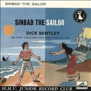 Click here for more info about 'Various-Childrens - Sinbad The Sailor - Blue Vinyl'
