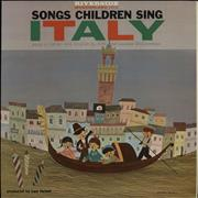 Click here for more info about 'Various-Childrens - Songs Children Sing: Italy'