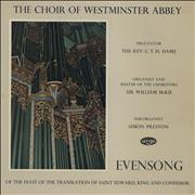 Click here for more info about 'Various-Choral & Gregorian Chanting - Evensong Of The Feast Of The Translation Of Saint Edward'