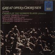 Click here for more info about 'Various-Choral & Gregorian Chanting - Great Opera Choruses'