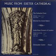Click here for more info about 'Various-Choral & Gregorian Chanting - Music From Exeter Cathedral'