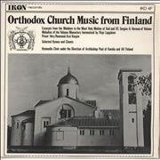 Click here for more info about 'Various-Choral & Gregorian Chanting - Orthodox Church Music From Finland'