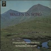 Click here for more info about 'Various-Choral & Gregorian Chanting - Wales In Song'