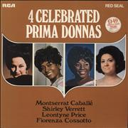 Click here for more info about 'Various-Classical & Orchestral - 4 Celebrated Prima Donnas'