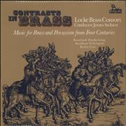 Click here for more info about 'Various-Classical & Orchestral - Contrasts In Brass - Music For Brass And Percussion From Four Centuries'