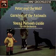 Click here for more info about 'Various-Classical & Orchestral - Prokofiev: Peter And The Wolf / Saint-Saëns: The Carnival Of The Animals / Britten: The Young Person'