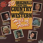 Click here for more info about 'Various-Country - 20 Originals From The Country And Western Hall Of Fame'