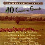 Click here for more info about 'Various-Country - Back In The Country - 40 Country Greats'