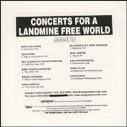 Click here for more info about 'Various-Country - Concerts For A Landmine Free World'