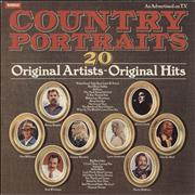 Various-Country Country Portraits UK vinyl LP