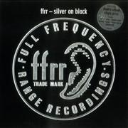 Click here for more info about 'Various-Dance - Ffrr - Silver On Black'