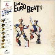 Click here for more info about 'Various-Dance - That's Eurobeat Vol. 7 + Obi'
