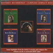 Click here for more info about 'Various-Easy Listening - Historic Recordings - Sampler Compact Disc'