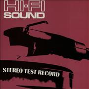 Click here for more info about 'Various-Educational, Informational & Historical - Hi-Fi Sound - Stereo Test Record'