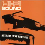Click here for more info about 'Hi-Fi Sound Stereo Test Record'