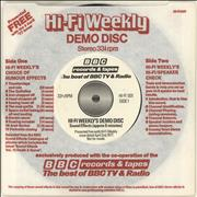 Click here for more info about 'Various-Educational, Informational & Historical - Hi-Fi Weekly's Demo Disc'