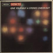 Click here for more info about 'Various-Educational, Informational & Historical - How To Give Yourself A Stereo Check-Out'