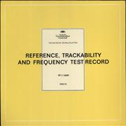 Click here for more info about 'Various-Educational, Informational & Historical - Reference, Trackability And Frequency Test Record'