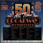 Click here for more info about 'Various-Film, Radio, Theatre & TV - 50 All Time Broadway Showstoppers'