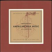 Various-Folk Anthology Of American Folk Music USA cd album box set