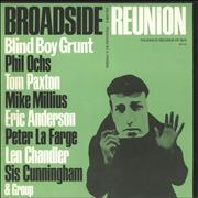 Various-Folk Broadside Reunion Volume 6 - Green Sleeve USA vinyl LP