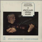Various-Folk Scottish Tradition 4: Shetland Fiddle Music UK vinyl LP