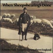 Click here for more info about 'Various-Folk - When Sheepshearing's Done'
