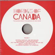 Click here for more info about 'Various-Indie - Hordes Of Canada: The Bleeding Edge Of The Canadian Art-Rock'