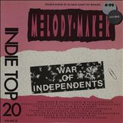 Click here for more info about 'Various-Indie - Indie Top 20 Volume III - War Of Independents'