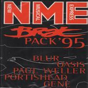 Click here for more info about 'Various-Indie - NME Brat Pack '95'