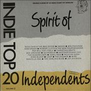 Click here for more info about 'Various-Indie - Indie Top 20 Volume V - Spirit Of Independents'