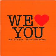 Click here for more info about 'Various-Indie - We Love You... So Love Us Three'