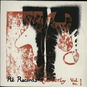 Click here for more info about 'Various-Industrial & Avant-Garde - Re Records Quarterly Vol. 1 No. 1 & 2'