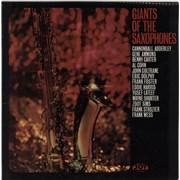 Various-Jazz Giants Of The Saxophones UK vinyl LP