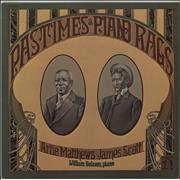 Click here for more info about 'Various-Jazz - Pastimes & Piano Rags'