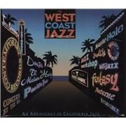 Various-Jazz The West Coast Jazz Box USA 4-CD set
