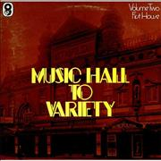 Click here for more info about 'Various-Music Hall & Variety - First House'